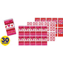 Valentines Day Assorted Value Pack Note Pads 30ct<span class=messagesale><br><b>20¢ per piece!</b></br></span>