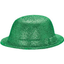 Glitter St. Patricks Day Derby Hat