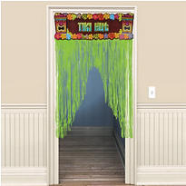 Totally Tiki Door Curtain