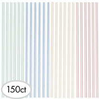 Plastic Straw Stirrers 150ct