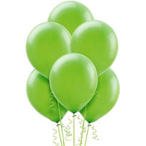 Kiwi Green Latex Balloons 12in 72ct