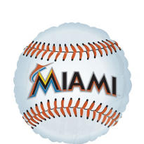 Florida Marlins Foil Balloon 18in