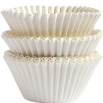 White Baking Cups Jumbo Size 75ct