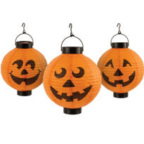 Pumpkin Lantern Lights 3ct