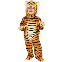 Toddler Boys Tiger Costume