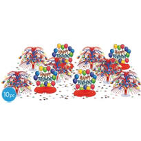 Balloon Fun Happy Birthday Centerpiece Kit 11ct