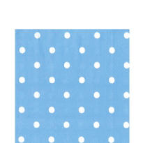 Large Spot Blue Lunch Napkins 20ct