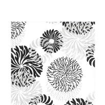 Cascade Black & White Lunch Napkins 20ct