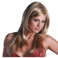 Divine Premium Long Honey Light Blonde Wig