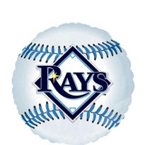 Tampa Bay Rays Foil Balloon 18in