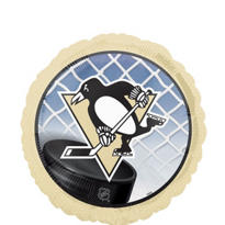Foil Pittsburgh Penguins Balloon 18in