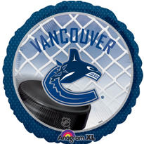 Foil Vancouver Canucks Balloon 18in