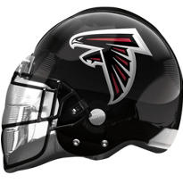Atlanta Falcons Helmet Foil Balloon 26in