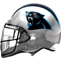 Carolina Panthers Helmet Foil Balloon 26in