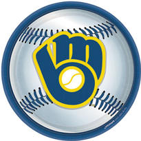 Milwaukee Brewers Lunch Plates 18ct
