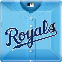 Kansas City Royals Dinner Plates 18ct