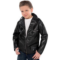 Boys Studded Greaser Jacket