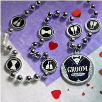 Groom Bead Necklace