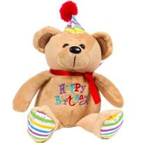 Happy Birthday Bear Plush 7in