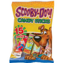 Scooby-Doo Candy Sticks 15ct