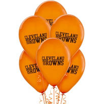 Cleveland Browns Latex Balloons 6ct