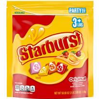 Starburst Fruit Chews 300ct