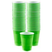 BOGO Kiwi Plastic Cups 16oz 50ct