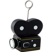 Movie Camera Balloon Weight 6oz