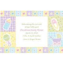 Baby Nursery Custom Birth Announcements