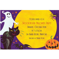 Gruesome Group Halloween Custom Invitation