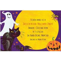 Custom Gruesome Group Halloween Invitations