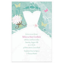 Something Blue Custom Invitation