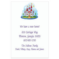 Castle Custom Housewarming Invitation
