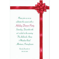 All Wrapped Up Custom Invitation