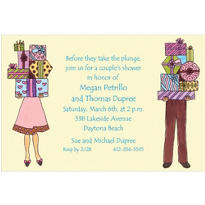 Couple's Shower Custom Invitation