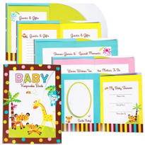 Fisher Price Baby Shower Keepsake Book