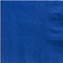 Royal Blue Dinner Napkins 50ct
