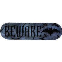 Foam Beware Plaque Halloween Sign 18in