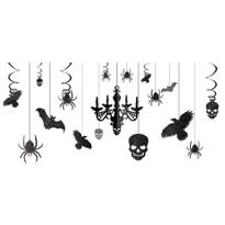 Shocktails Gothic Glitter Room Decorating Kit 17pc