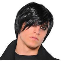 Black Emo Wig
