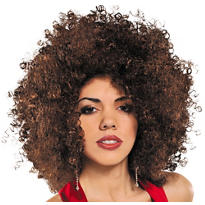 Runway Brown Afro Wig