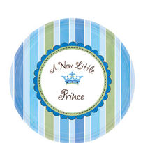Little Prince Baby Shower Dessert Plates 8ct