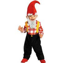 Toddler Boys Garden Gnome Costume