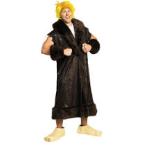 Adult Barney Rubble Costume Plus Size