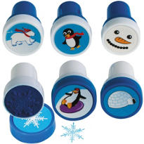 Winter Fun Stamper Set 6pc