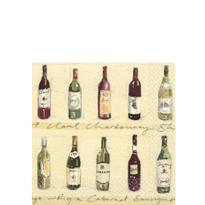 Vineyard Beverage Napkins 16ct