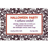 Shocktails Halloween Custom Invitation