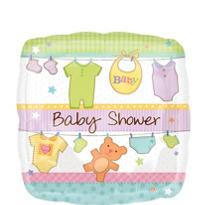 Baby Shower Balloon - Cuddly Clothesline