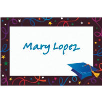 Grad Celebration Custom Thank You Notes