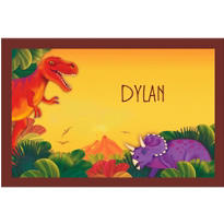 Prehistoric Dinosaurs Custom Thank You Note
